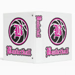 Beka Basketball 3 Ring Binders