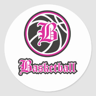 Beka Basketball Classic Round Sticker