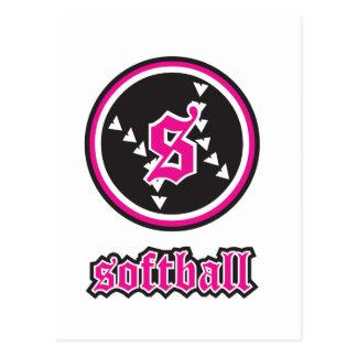 Beka Softball Postcard