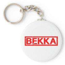 Bekka Stamp Keychain