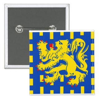 Bekkevoort, Belgium flag Pin