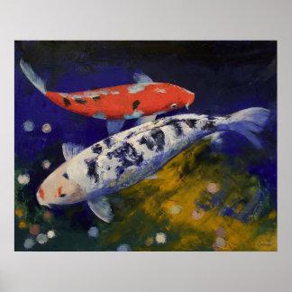 Bekko Koi Fish Print
