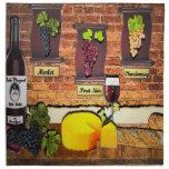 Beko Vineyard Wine Motif Napkins (Set of 4)