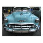 Bel Air 1953 de Chevy Postales