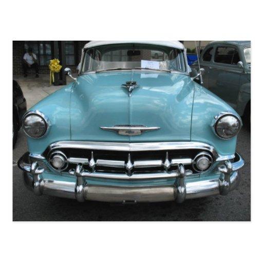 Bel Air 1953 de Chevy Tarjeta Postal