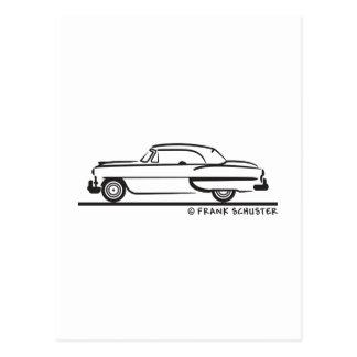 Bel Air 1953 del convertible de Chevrolet Postales
