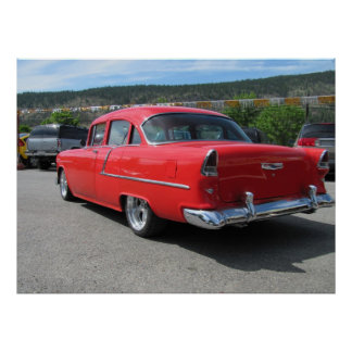Bel Air 1955 de Chevrolet Hardtop Poster