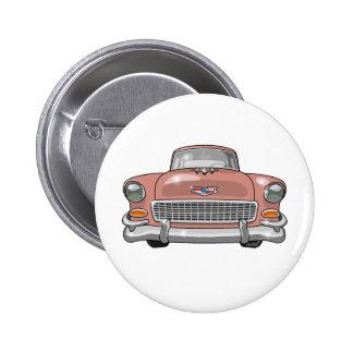Bel Air 1955 de Chevrolet Pin Redondo De 2 Pulgadas