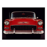 Bel Air 1955 de Chevrolet Poster