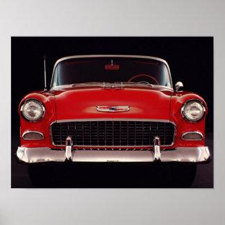 Bel Air 1955 de Chevrolet Póster