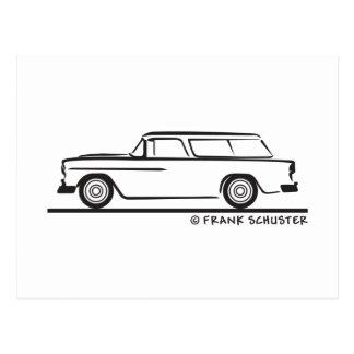 Bel Air 1955 del nómada de Chevy Postales