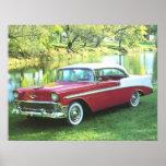 Bel Air 1956 de Chevrolet Poster