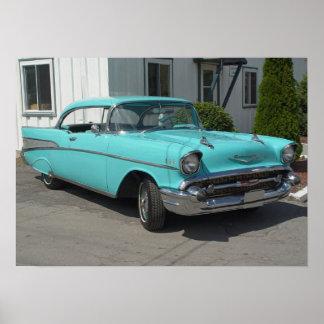 Bel Air 1957 de Chevrolet Posters