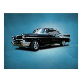 Bel Air 1957 de Chevrolet Póster