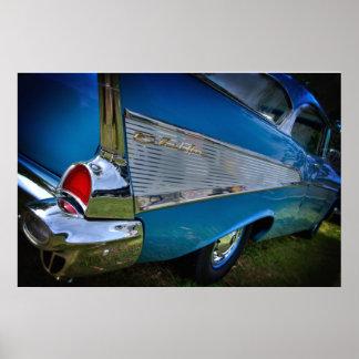 Bel Air 1957 de Chevy Impresiones