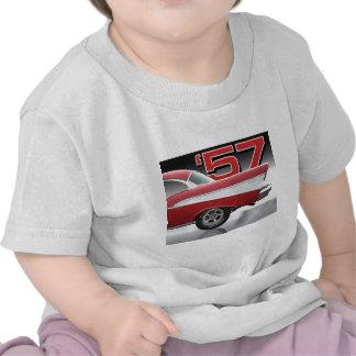 Bel Air 1957 de Chevy Camisetas