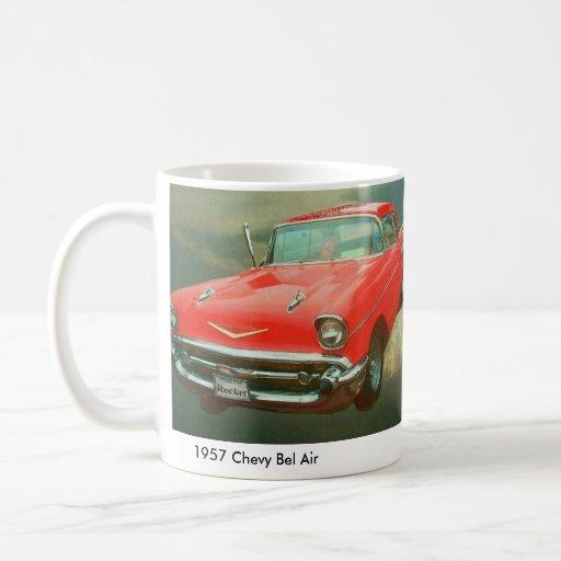 Bel Air 1957 de Chevy Tazas