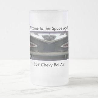 Bel Air 1959 de Chevy Taza De Cristal
