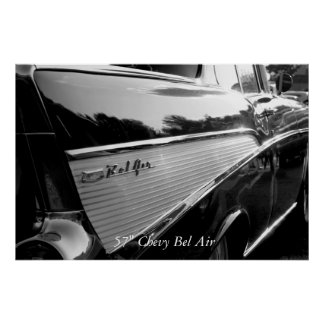 "Bel Air, 57"" Chevy Bel Air Poster"