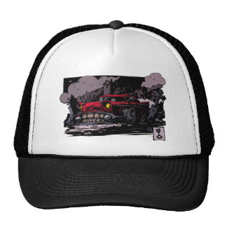Bel-Air. The corpse. Trucker Hat