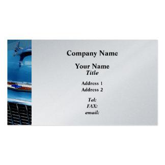 Bel Aire Hood Ornament - Platinum Finish Business Card