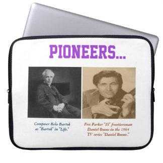 Bela Bartok Fess Parker Daniel Boone Laptop Sleeve
