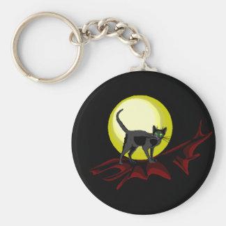 Bela Black Cat Keychain
