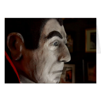 Bela Lugosi Mask Card