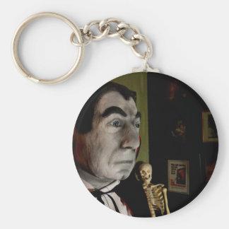 Bela Lugosi Mask Keychain