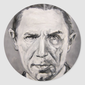 Bela Lugosi Classic Round Sticker