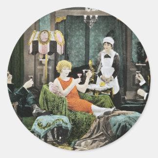 Bela Lugosi - The Silent Command Classic Round Sticker