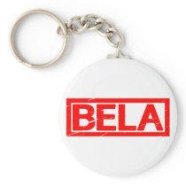 Bela Stamp Keychain