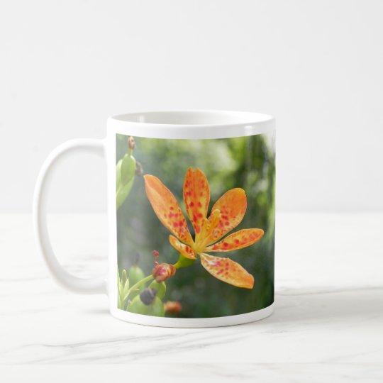 Belamcanda Chinensis Bloom Coffee Mug