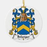 Belanger Family Crest Ornament
