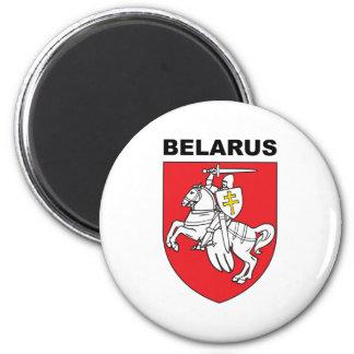 Belarus 2 Inch Round Magnet
