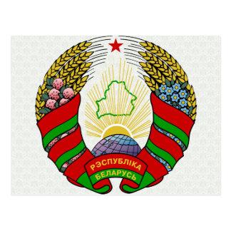 Belarus Coat of Arms detail Post Cards