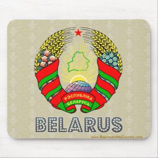 Belarus Coat of Arms Mousepad