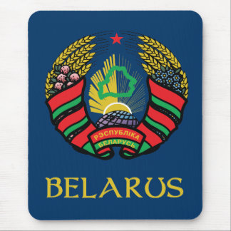 Belarus Coat of Arms Mouse Pad