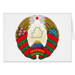 Belarus Coat of Arms (old) Greeting Card