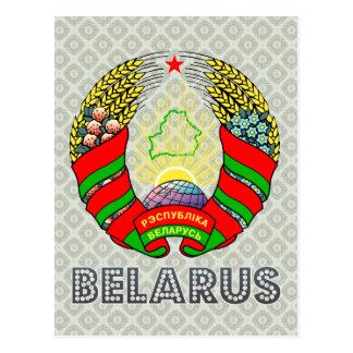 Belarus Coat of Arms Postcard