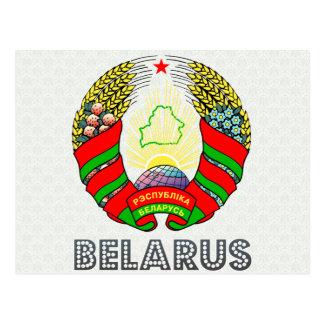 Belarus Coat of Arms Post Card