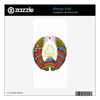 Belarus Coat of Arms Decals For iPhone 4S