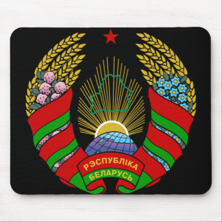 belarus emblem mouse pad