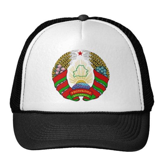 belarus emblem trucker hat
