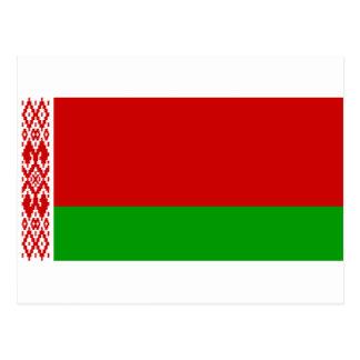Belarus Flag BY Postcard