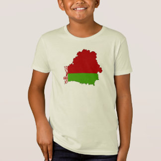 Belarus flag map T-Shirt
