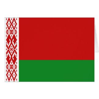 Belarus Flag Notecard Card