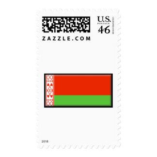 Belarus Flag Postage Stamps