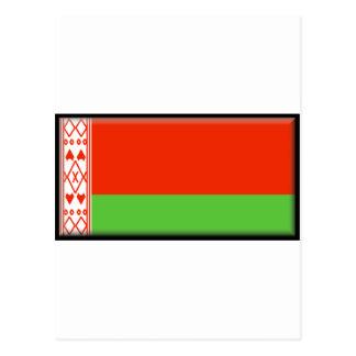 Belarus Flag Post Card
