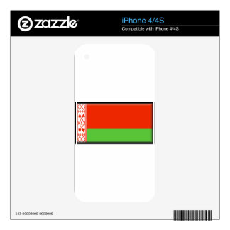 Belarus Flag Decal For The iPhone 4S